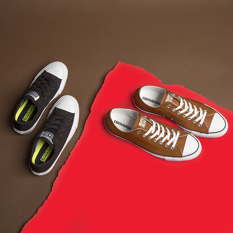 schuh sale womens converse chuck II ttrainers and mens converse all star leather ox trainers