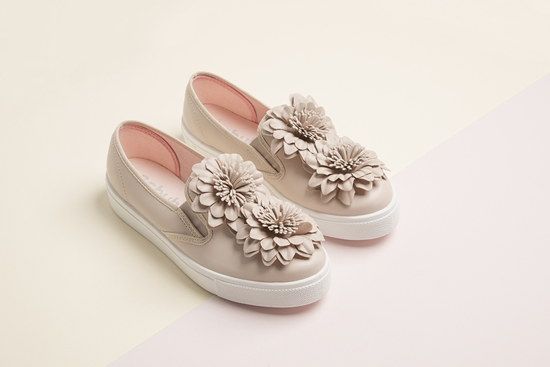 vegan awesome flowers slip on shoes at schuh