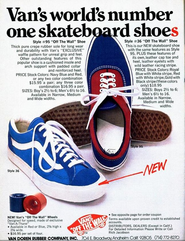 Original Advert for Vans #36