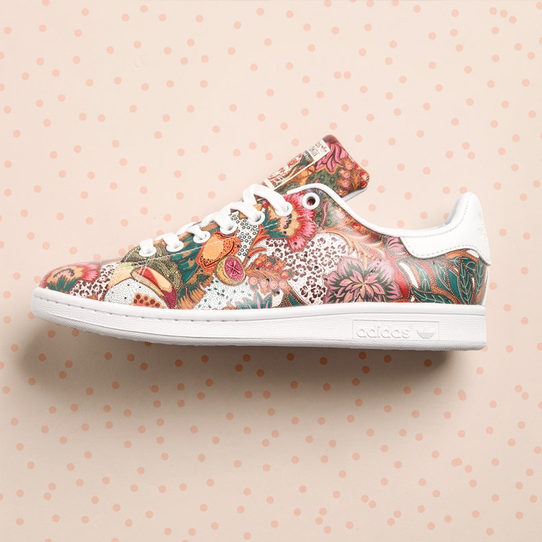 adidas Stan Smith with all over floral print