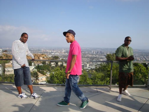 Pharrell Clipse Shoot