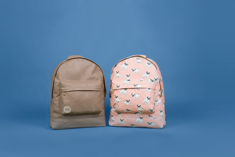 mi pac vegan backpacks at schuh