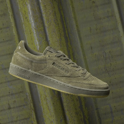 Reebok Club C 85 TG - Hunter Green/Poplar Green/Gum