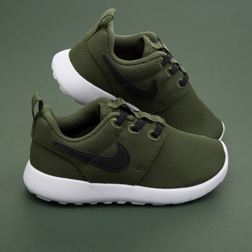 Nike Roshe Run (Legion Green/Black/White)