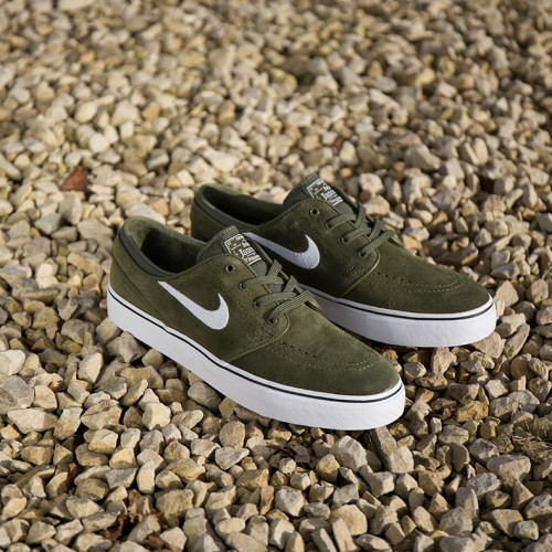 Nike SB Zoom Stefan Janoski (Legion Green/Black/White)