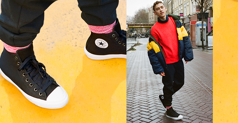 olly alexander converse chuck ii trainers