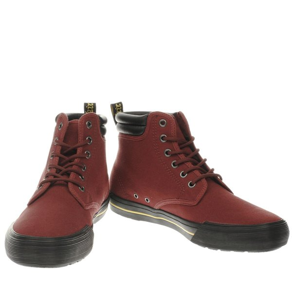 Doctor Martens Eason Canvas in Burgundy