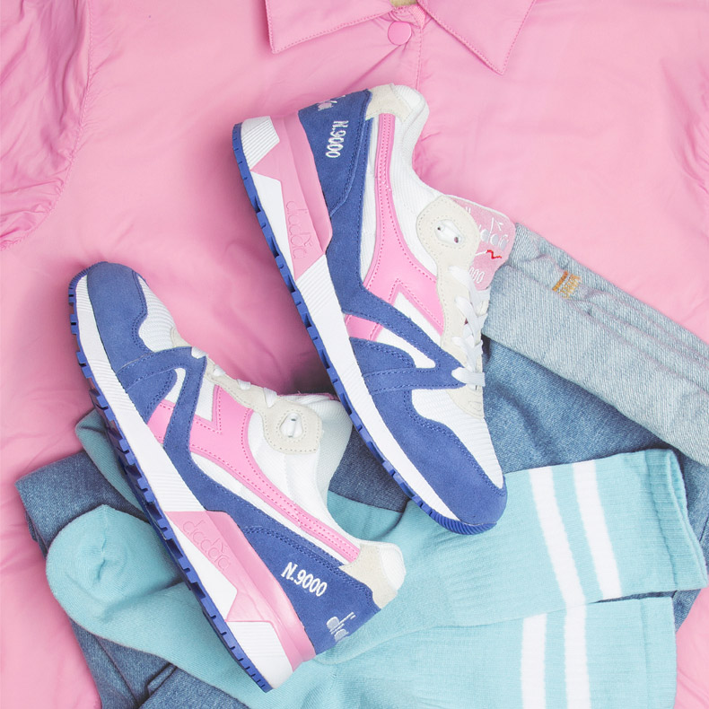 diadora N9000 womens trainers