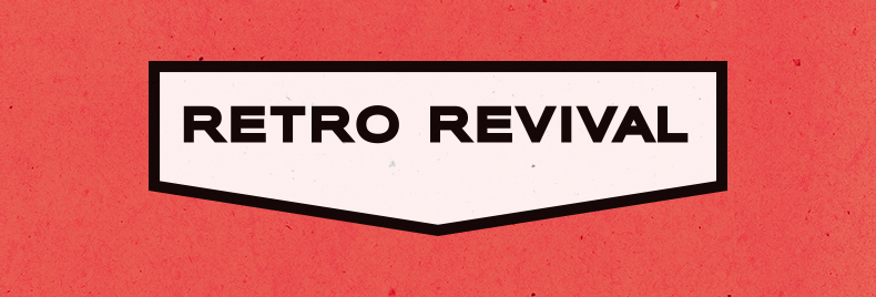 retro revival header