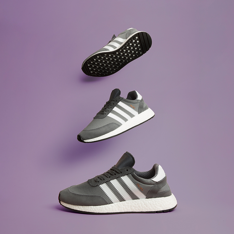 adidas Iniki Runner in Grey
