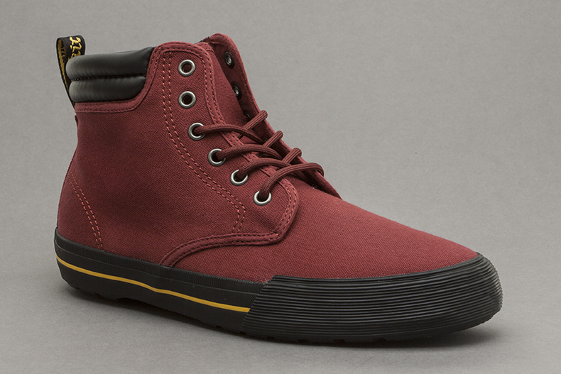 Dr Matens Eason Canvas in Burgundy