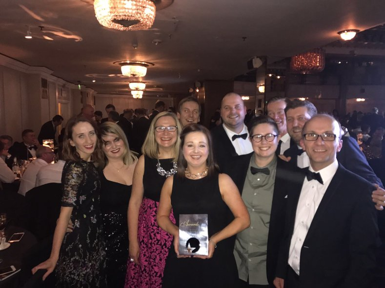 schuh team at Retail Week Awards 2017