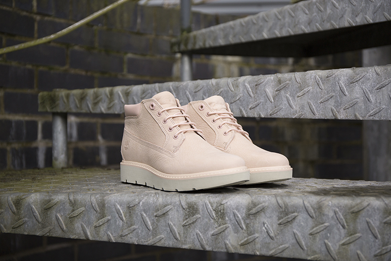 womens pale pink timberland kenniston nellie boots at schuh
