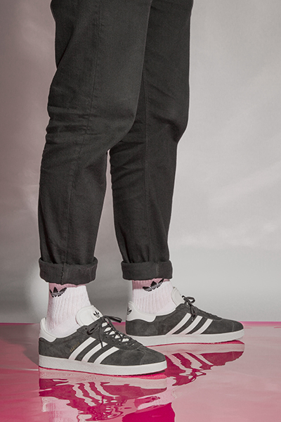adidas with white socks