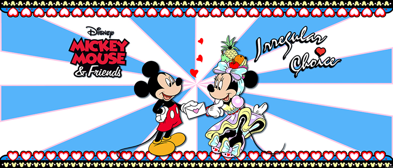 irregualr choice mickey mouse and friends collaboration