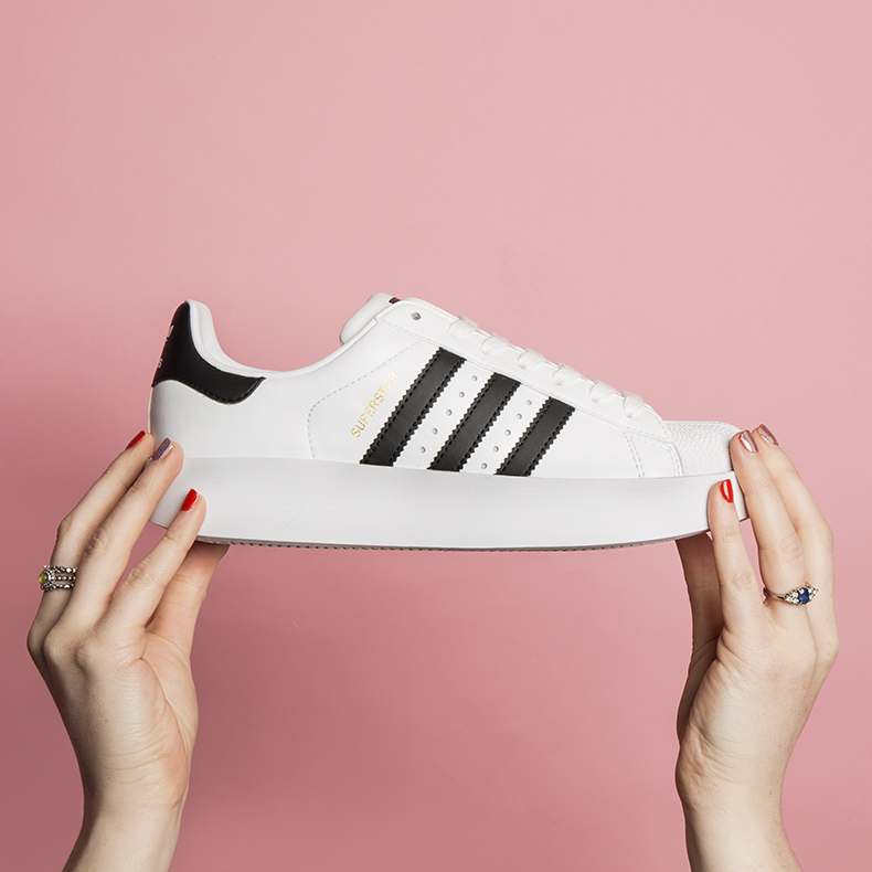 womens adidas superstar bold platform trainers at schuh