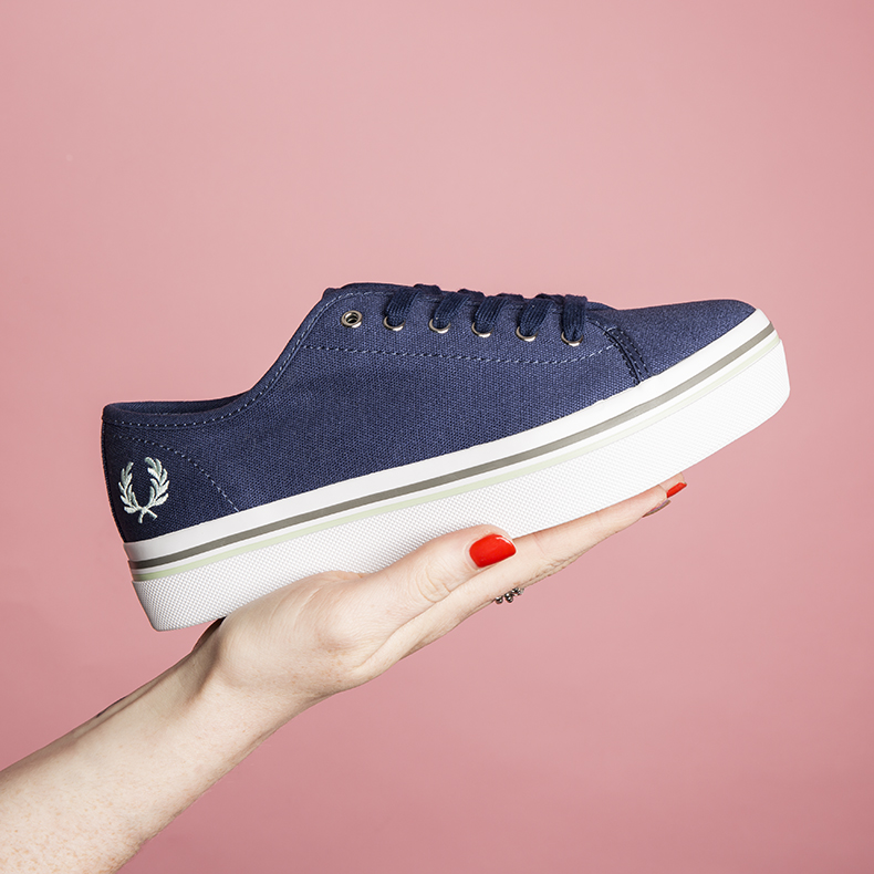 womens fred perry phoenix flatform trainers at schuh