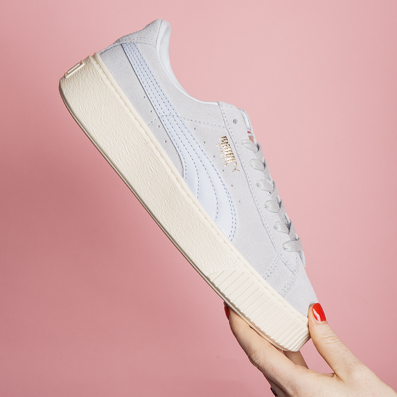 womens puma suede platform trainers at schuh