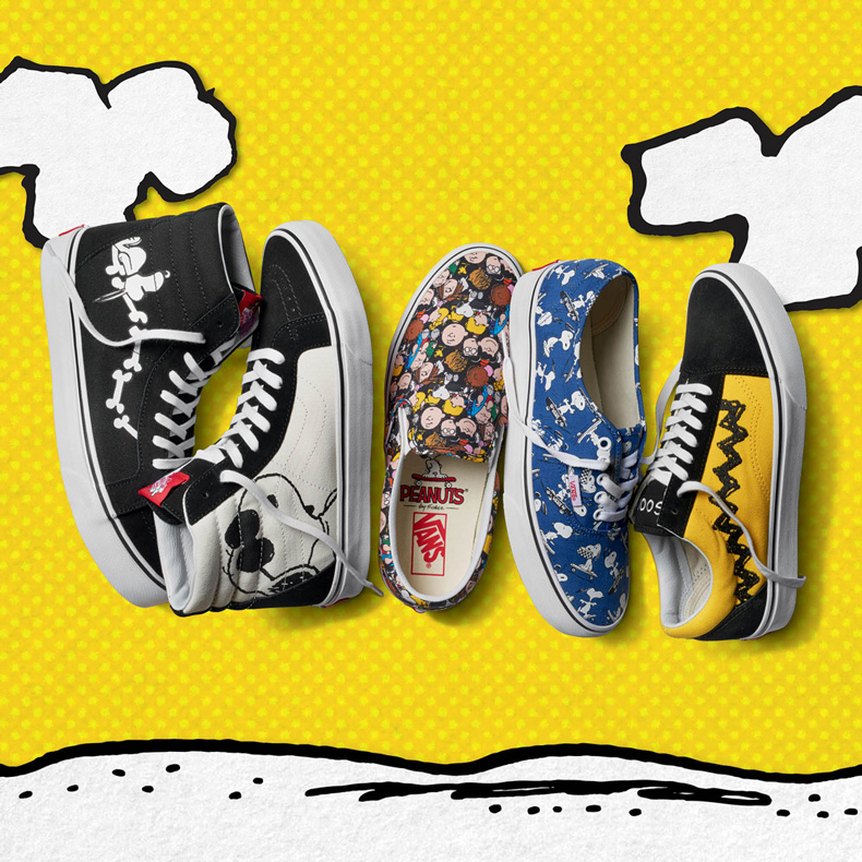 Vans peanuts mens collection