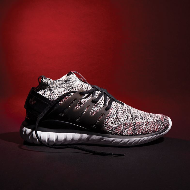 adidas tubular primeknit knitted trainers
