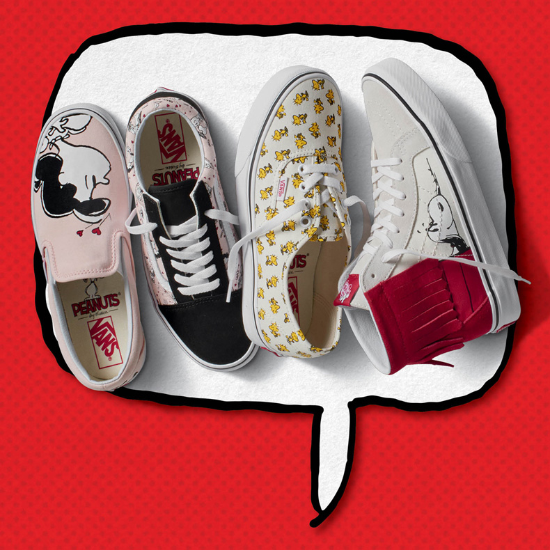 Vans peanuts womens collection