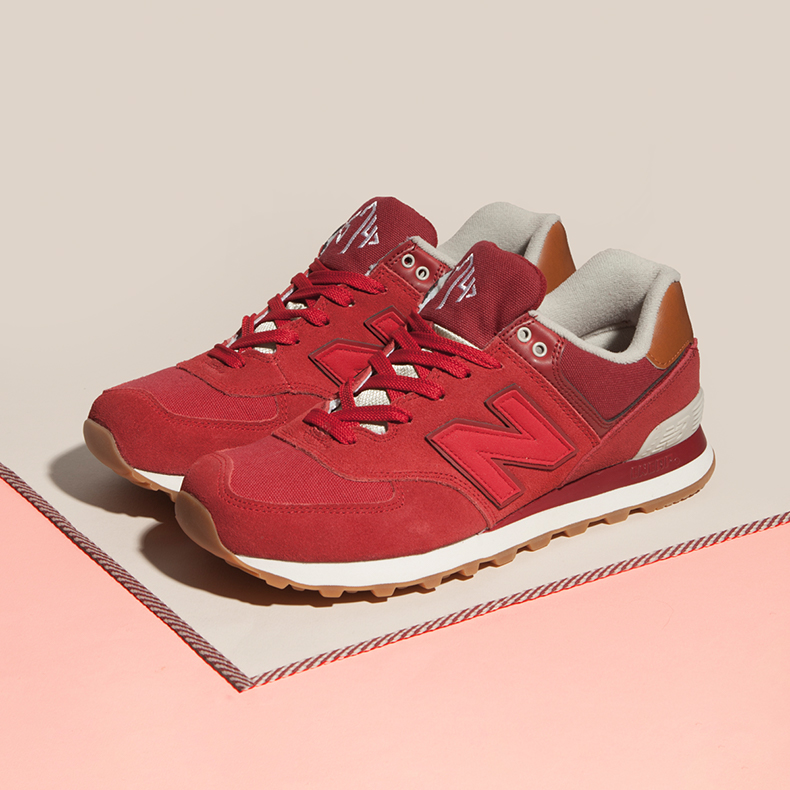 New Balance 574 Special Red
