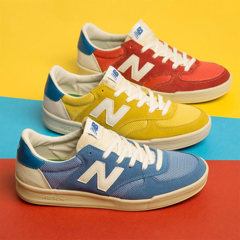 New Balance 300 in three colours