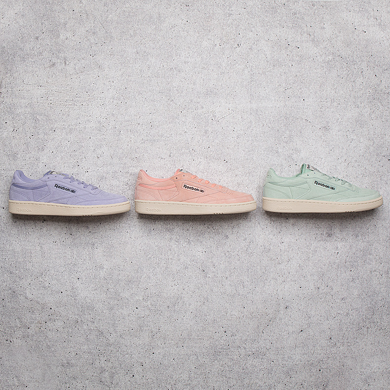 reebok club c 85 pastel pack