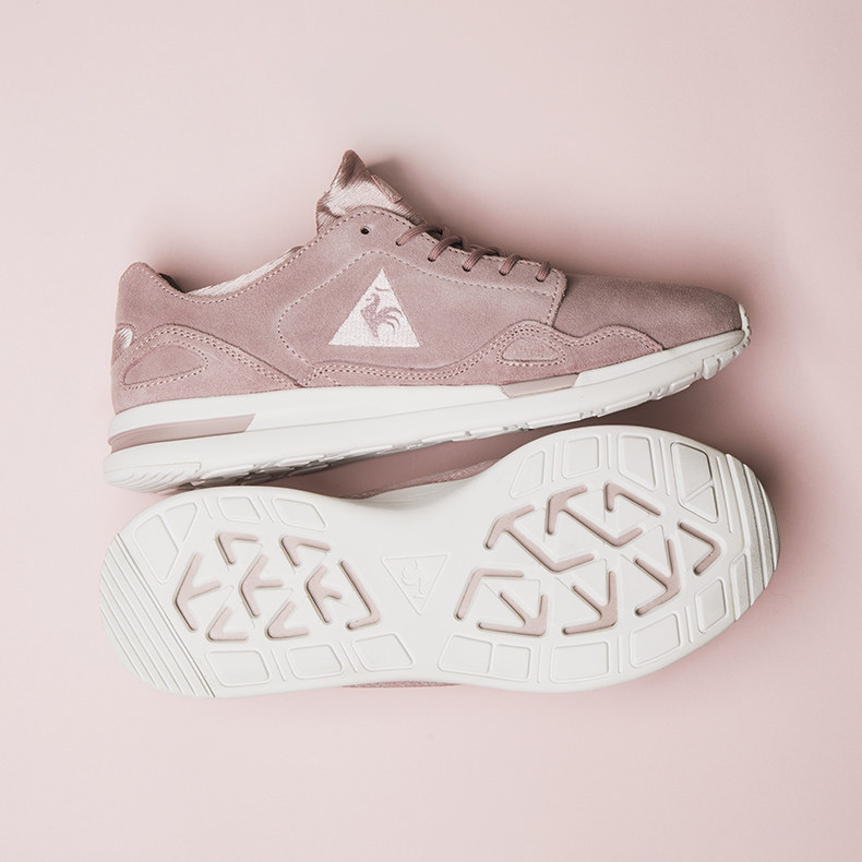 le coq sportif lcs r flow pink trainers