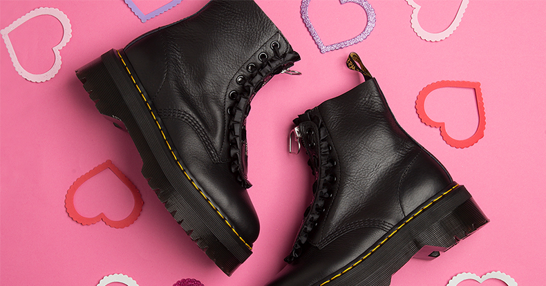 Dr. Martens and Lazy Oaf Jungle Boot