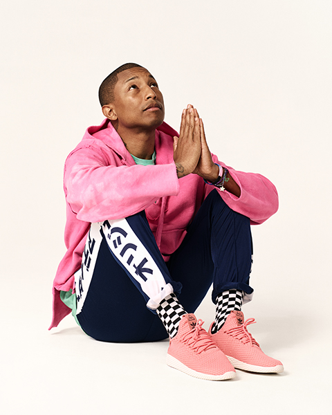 pharrell williams x adidas originals tennis hu schuh blog. Black Bedroom Furniture Sets. Home Design Ideas