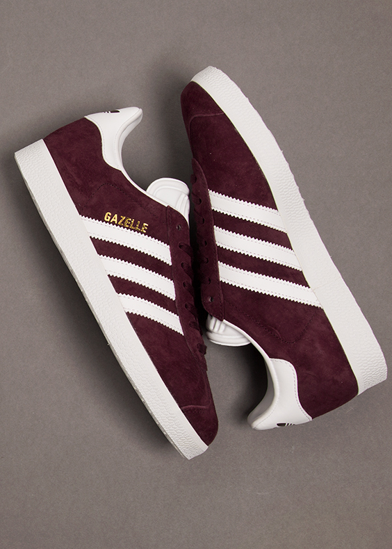 adidas gazelle burgundy autumn17 trainer